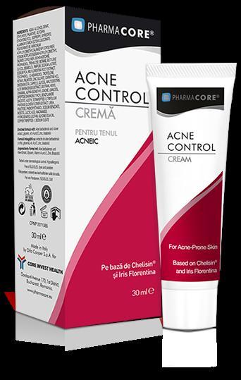 Crema tratament Acne Control Pharmacore