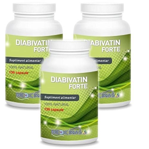 Diabivatin Forte Pachet 3 luni