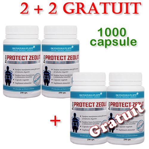 Promotie Protect Zeolit 2 + 2 Gratuit