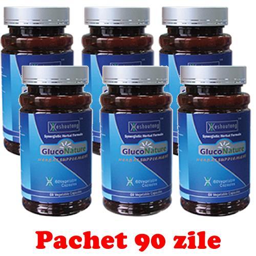 GlucoNature 6 buc - 90 zile