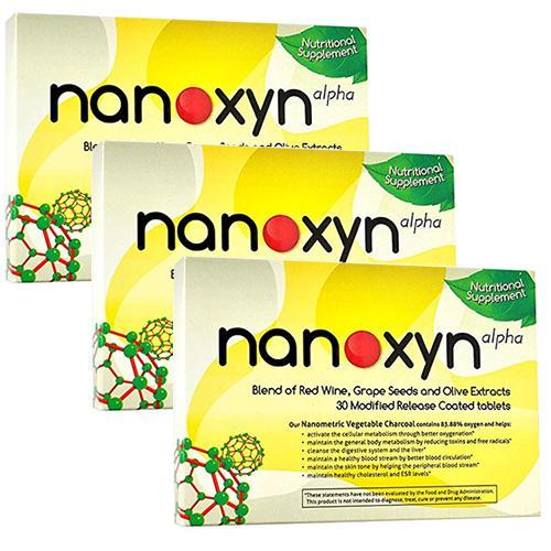 Nanoxyn Alpha Pachet 3 bucati