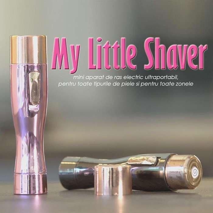 My Little Shaver - Negru si Roz