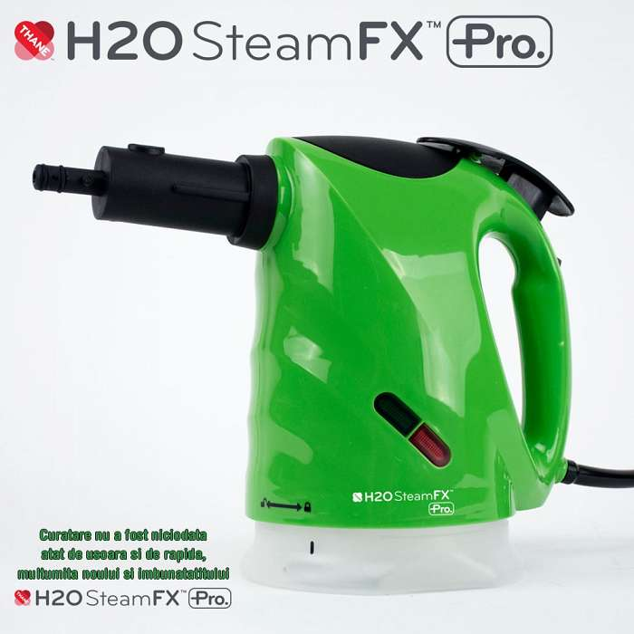 H20 SteamFX Pro - Sistem de curatare cu abur