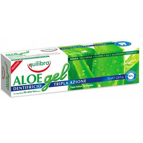 Aloe gel igiena orala cu tripla actiune - Equilibra