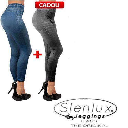 Slenlux Jeggings Jeans - 2 perechi la pret de 1