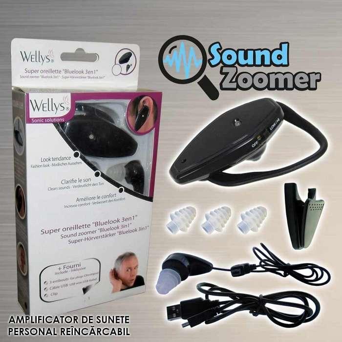 Sound Zoomer - Amplificator De Sunete Reincarcabil