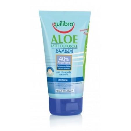 Aloe After Sun lapte dupa plaja pentru copii