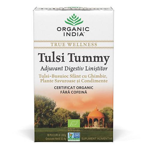 Ceai Digestiv Tulsi - Tummy cu Ghimbir