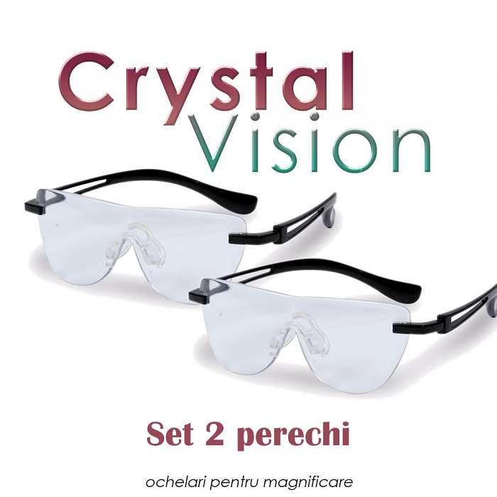 Crystal Vision - Ochelari Pentru Marire 160% - 2  bucati