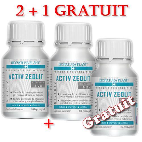Promotie Zeolit Silicic 2+1 GRATUIT
