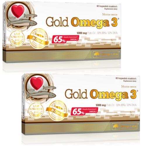 Gold Omega3 - 2 cutii