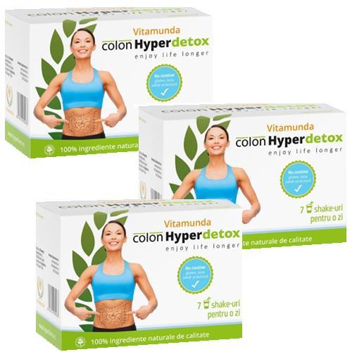 Colon Hyper Detox -  Program 3 zile