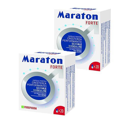 Maraton Forte 20 cps x 2 cutii