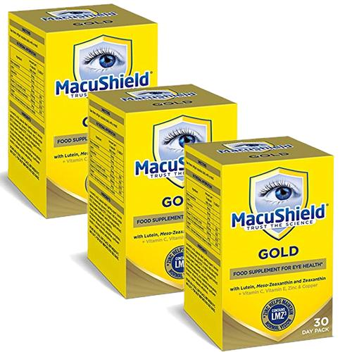 Macushield Gold 3 x 90 cps