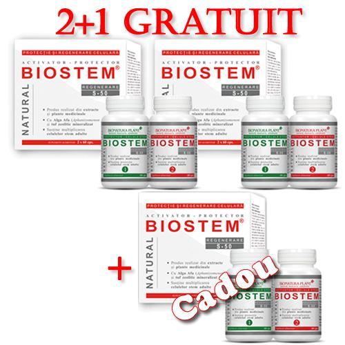 Promotie Biostem 2 + 1 Gratuit
