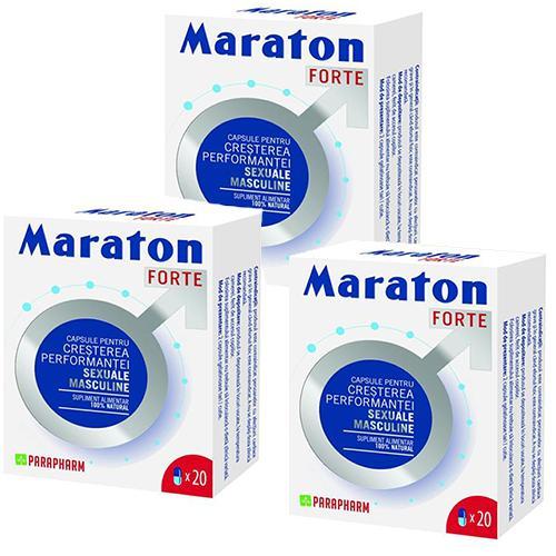 Maraton Forte 20 cps x 3 cutii
