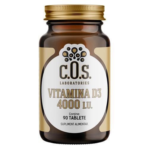 Vitamina D3 4000iu COS Laboratories