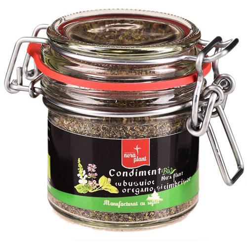 Condiment Nera Plant cu busuioc, oregano si cimbrisor
