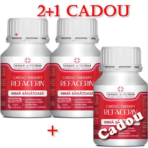 Refacerin Cardio 2+1 Cadou