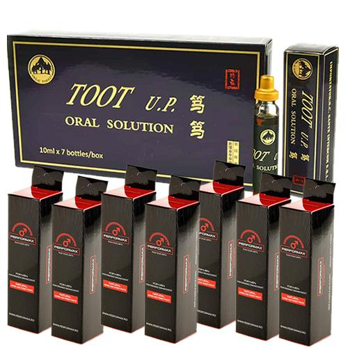 Promotie TOOT UP 7  Fiole + Performax 7 Pliculete
