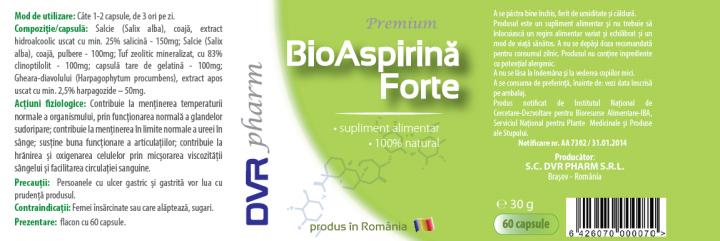 Aspirina naturala prospect