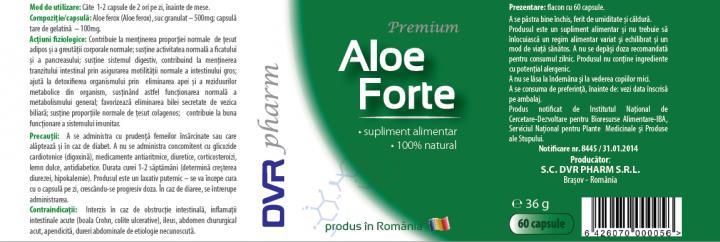 Aloe Ferox Forte prospect