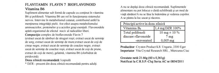 Vitamina B6 prospect