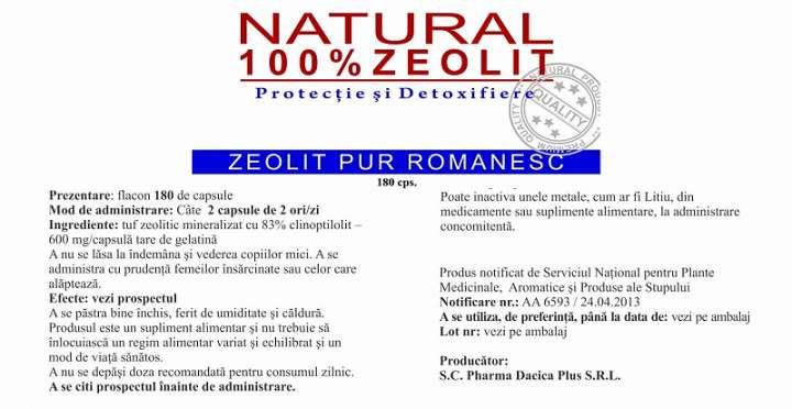 Natural Zeolit prospect