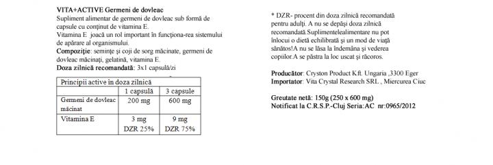 Germeni de Dovleac 250 capsule prospect