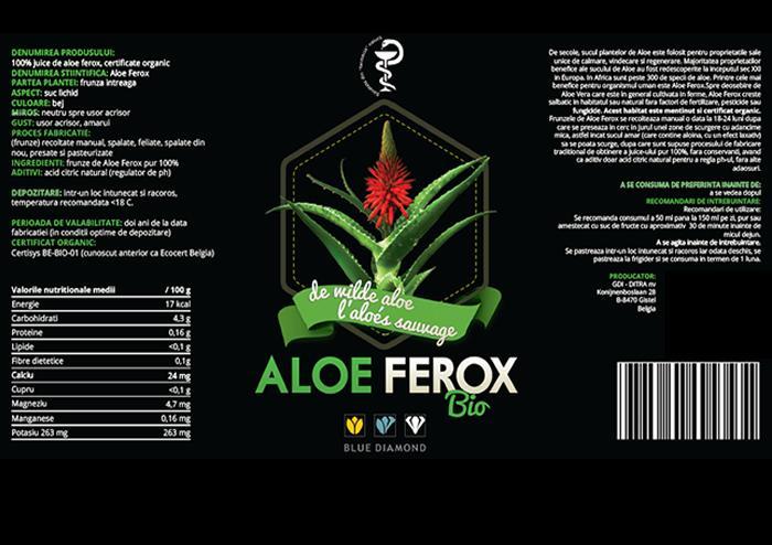 Aloe Ferox Juice organic 100% pur prospect