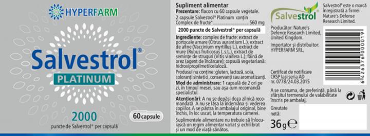 Salvestrol PLATINUM - 2000  prospect