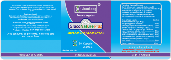 GlucoNature Plus prospect