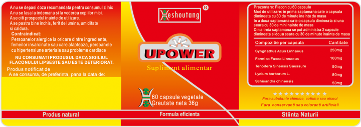 Upower prospect