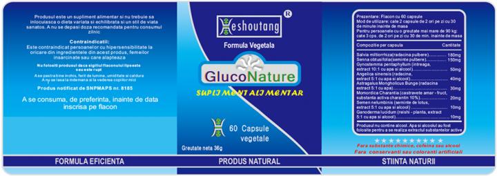 GlucoNature 6 buc - 90 zile prospect