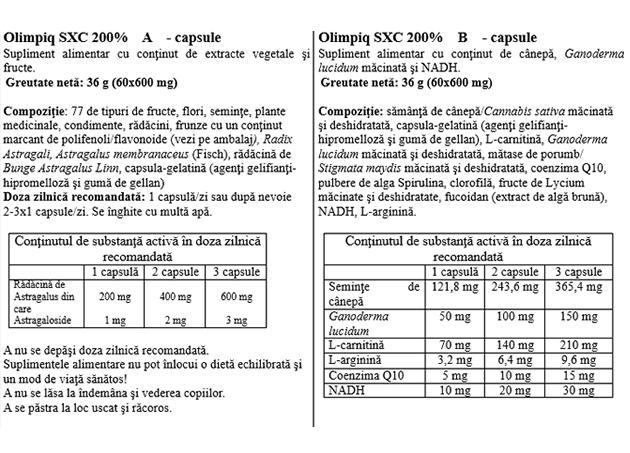 Olimpiq Jubileum SXC 200% - 60/60 cps prospect