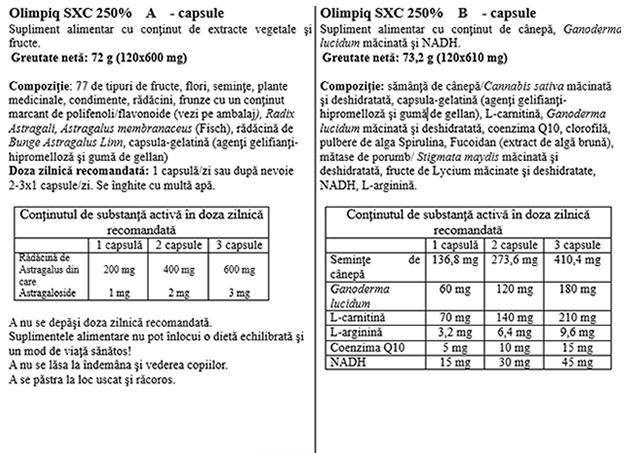 Olimpiq Jubileum SXC 250% 120 doze - 240 cps prospect