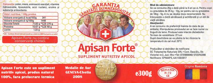 Apisan Forte 300g prospect