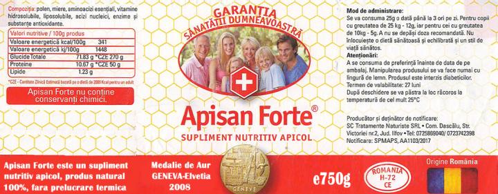 Apisan Forte 750g prospect