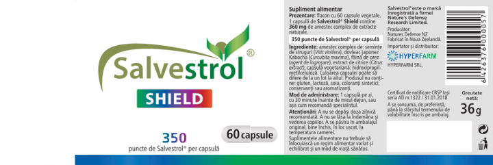 Salvestrol Shield 2 bucati prospect